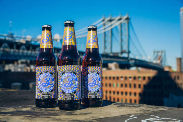 Tris di Brooklyn Special Effects Hoppy Lager Alcoholic Free