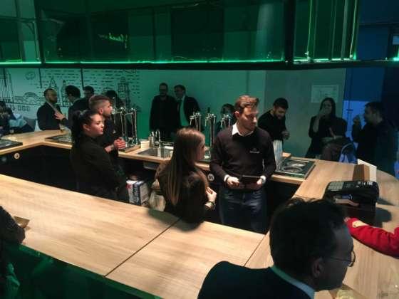 Party di presentazione alla Fabbrica di Ghiaccio e di Birra per la nuova Heineken unlimited