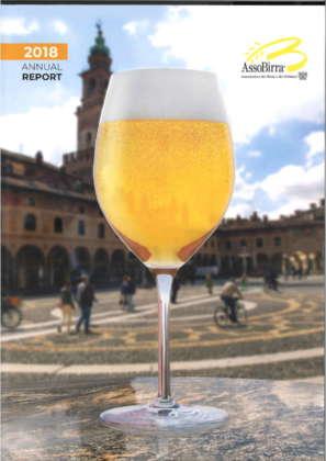 Copertina dell'Annual Report 2018 di Assobirra