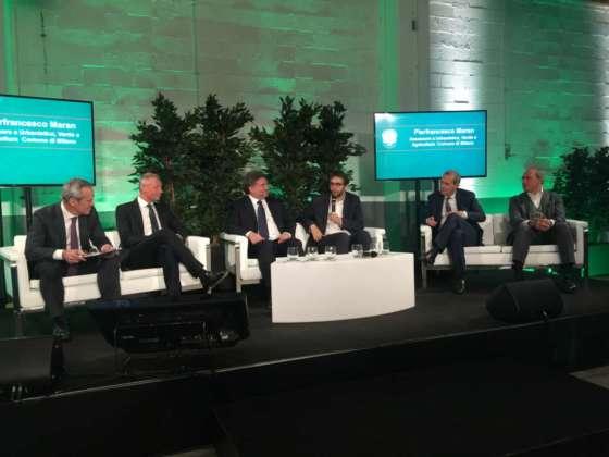 Da sinistra, Alfredo Pratolongo, Søren Hagh, Alessandro Mattinzoli, Pierfrancesco Maran, Federico Visconti e Massimo Furlan.