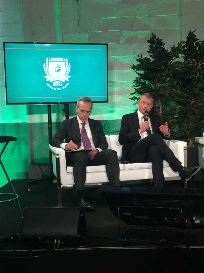 Alfredo Pratolongo e Søren Hagh di Heineken Italia.