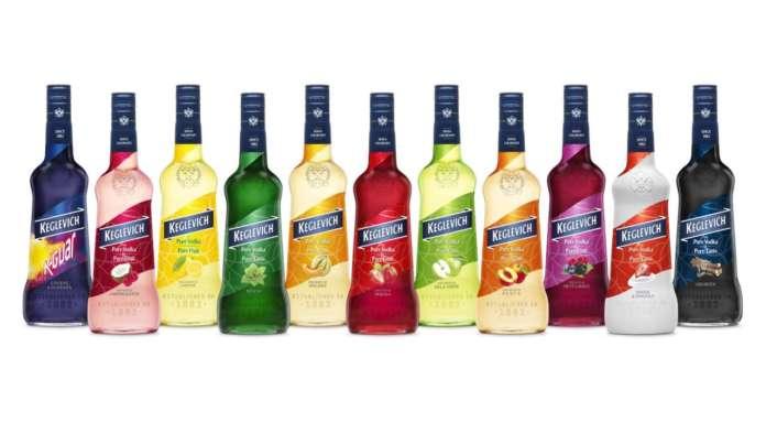 Keglevich Frutta vodka