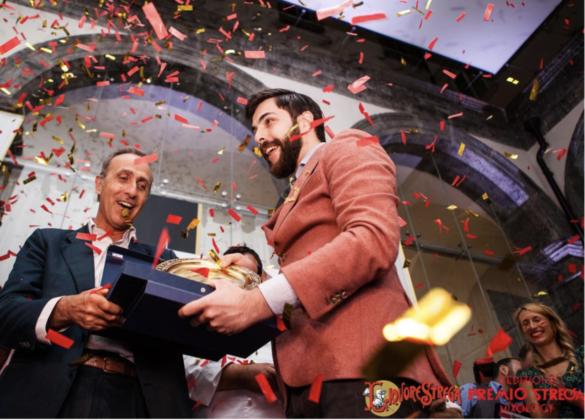 Matteo Rebuffo, vincitore Premio Strega Mixology 2017