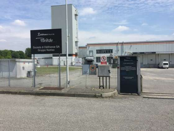 Stabilimento Panitaly - gruppo Délifrance di Liscate-Mi