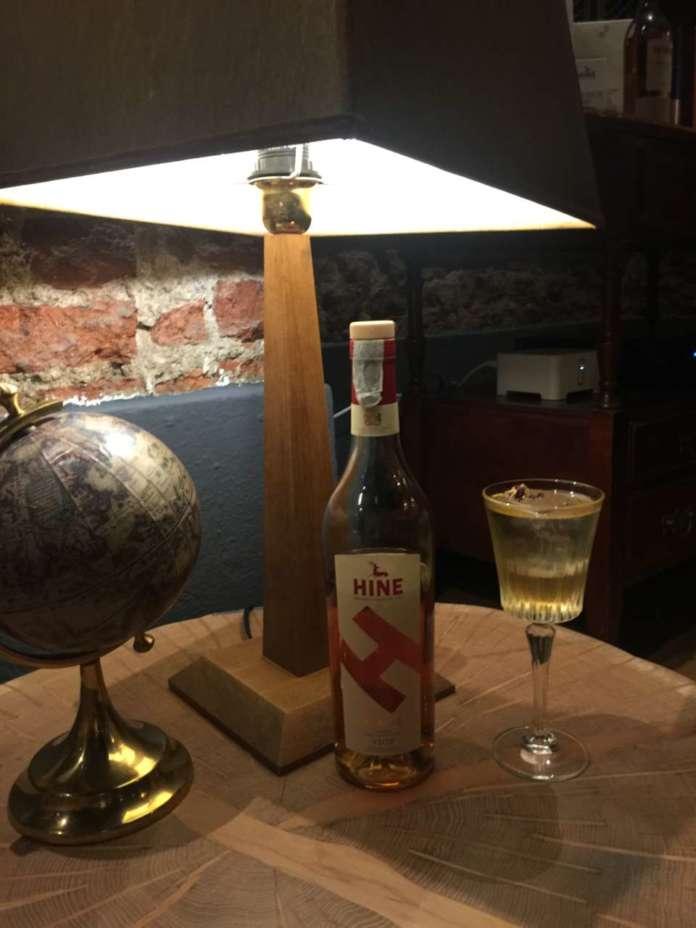 Cocktail da meditazione e conversazione come Italian Reinassence con Cognac Hine
