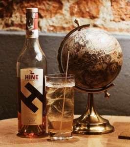 Cocktail Dangerous Highball con Cognac Hine