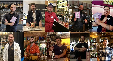 finalisti Florence Cocktail Week 2019