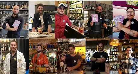 finalisti Florence Cocktail Week 2019