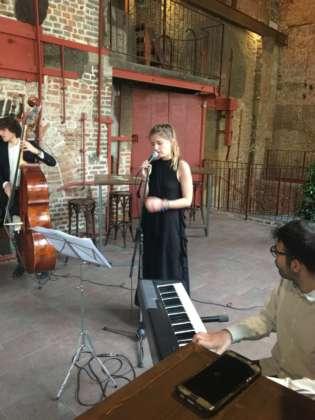 Il Trio Gaia Banfi in azione.