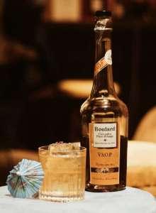 Cocktail Tropical Koriko con Calvados Boulard