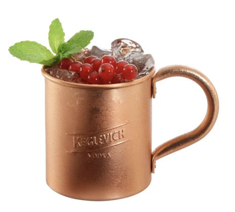 Cocktail K-Fruit Mule Pesca
