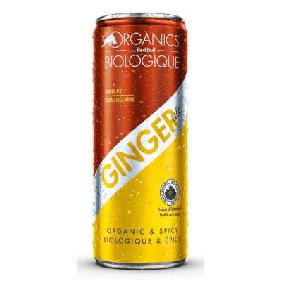 Organics Ginger Ale by Red Bull