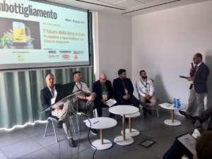 Tavola rotonda con i rappresentanti delle aziende sponsor Corimpex, Aeb, Della Toffola, Enolife e Lallemand