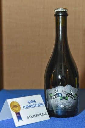Birra Arrow Monaci Vesuviani, terza classificata per il Premio Cerevisia Bassa Fermentazione