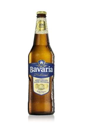 Limited edition 300 years di Birra Bavaria Holland Anniversary Super Premium in bottiglia 66 cl