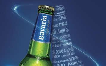 Locandina per i 300 anni di Birra Bavaria Holland Premium Beer