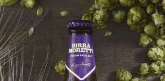 Birra Moretti IPA ambientata