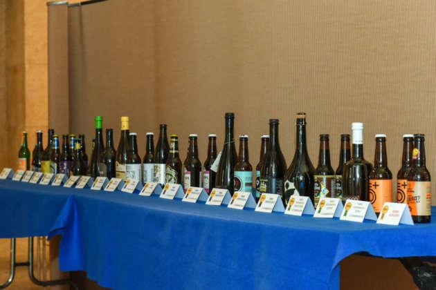 La schiera delle 21 birre vincitrici del Premio Cerevisia - BaNab 2019