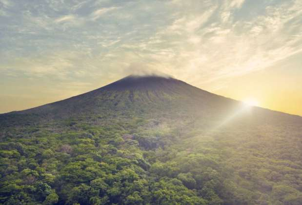 Il vulcano San Cristobal