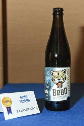 Birra Four Peaks della BeBo Unconventional Craft Brewery, terza classificata al Premio Cerevisia Birre Strong