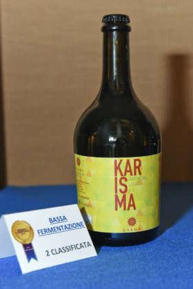 Birra Karisma, seconda classificata del Premio Cerevisia Bassa Fermentazione