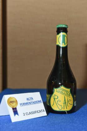 Birra ReAle Extra di Birra del Borgo, seconda classificata al Premio Cerevisia Alta Fermentazione