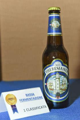 Birra Theresianer Premium Lager vincitrice del Premio Cerevisia Bassa Fermentazione