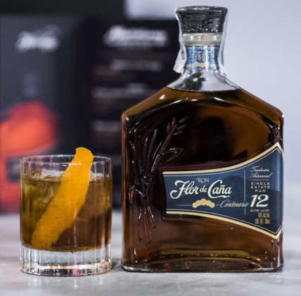 Cocktail Flor 12 yo - Old Fashioned