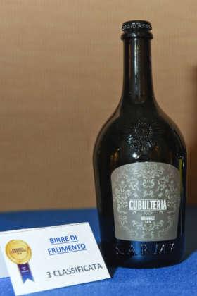 Cubulteriia di Birra Karma, terza classificata al Premio Cerevisia Birre di Frumento