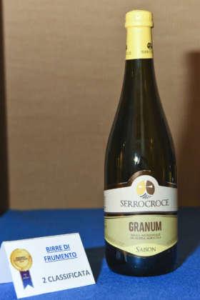 Birra Granum del Birrificio Serracroce, seconda classificata al Premio Cerevisia Birre di Frumento