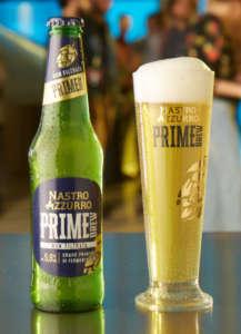 Nastro Azzurro Prime Brew Non Filtrata in bottiglia 33 cl