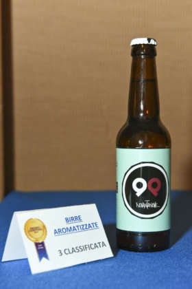 Birra Novantanove di Birra del Parco, terza classificata ex aequo al Premio Cerevisia Birre Aromatizzate