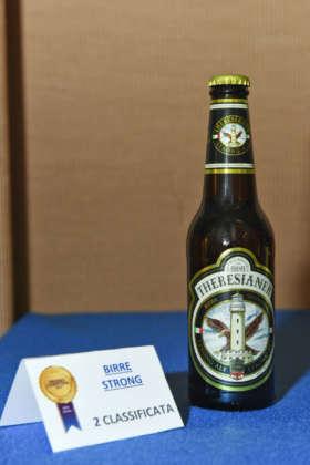 Theresianer Strong Ale, seconda classificata al Premio Cerevisia Birre Strong