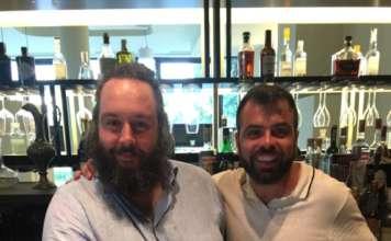 Masterclass Velier con il mixologist Angelo Canessa e Vincenzo Ambrosio di P&B Line - distr. Hoshizaki