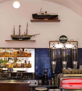Il Bar del Porto a Porto Ercole