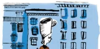 L'illustrazione che apre il capitolo Le città del caffè