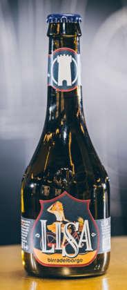 Lager Lisa di Birra del Borgo (gruppo AB-InBev)