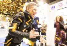 Esulta alla vittoria nazionale di Manuela Fensore, campionessa mondiale di Latte Art