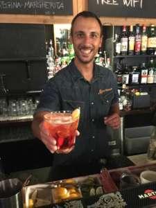Il cocktail F205 proposto dal bartender Alessio Miraglia