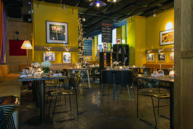 La zona ristorante de Le Biciclette Art Bar & Bistrot