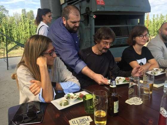 Lo chef Marco Messori di Osteria della Cavazzona presenta il suo menu al luppolo