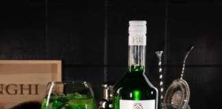 3P31 bottiglia e greenspritz