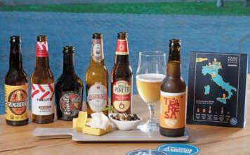 La gamma delle sei birre Best Brew proposte nei bar della catena Four Points by Sheraton