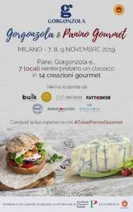 Locandina Gorgonzola e panino gourmet