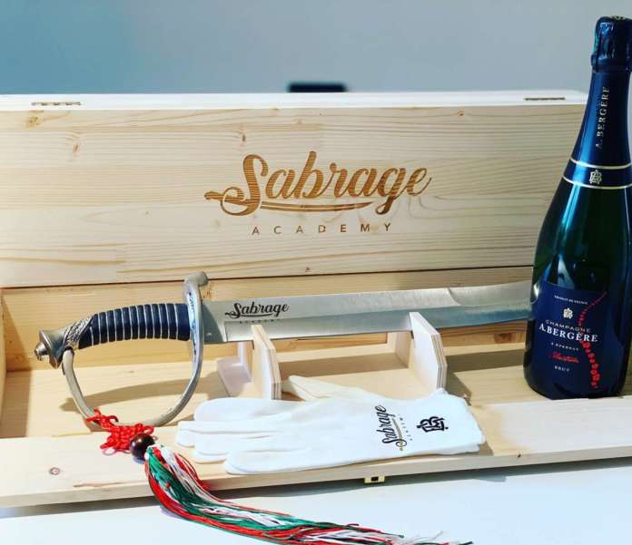 Sabrage Academy kit