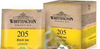 Whittington Tè Nero al Limone Biologico