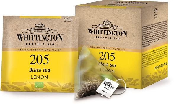 Whittington Tè Nero al Limone Biologico