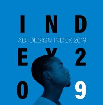 Copertina Adi Design Index 2019