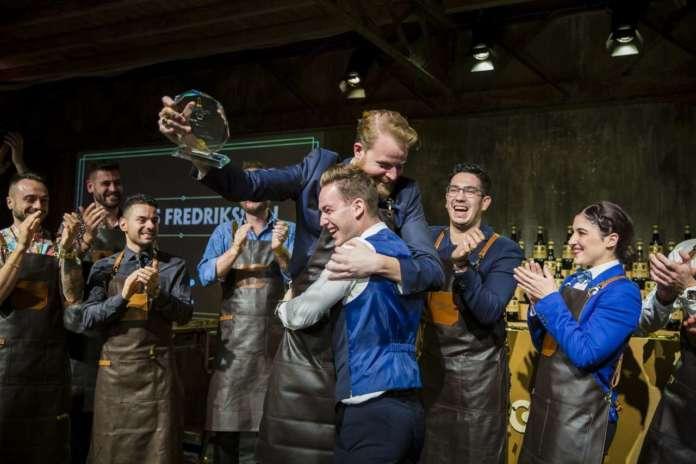 Marcus Fredriksson vincitore The Vero Barten