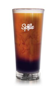 Scenografico il bicchiere di cold brew erogato da Spillo